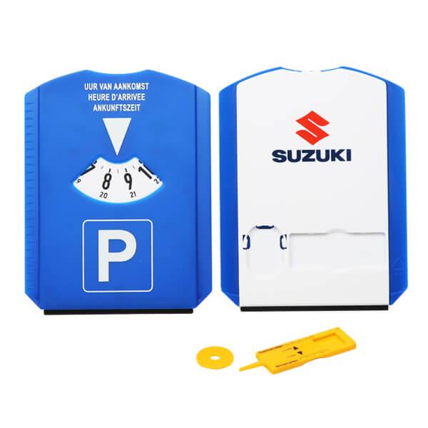ice scraper parking disc