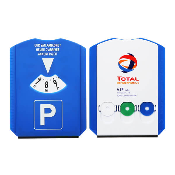Promotional gift parking disc