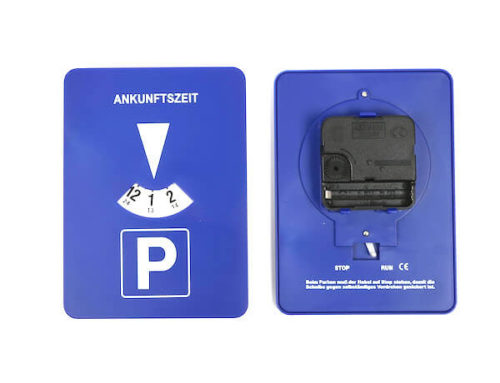 Wholesale automatic parking disc
