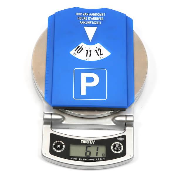 car parking timer weight
