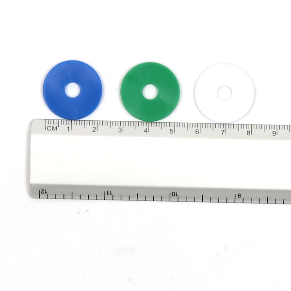 parking disc coin size