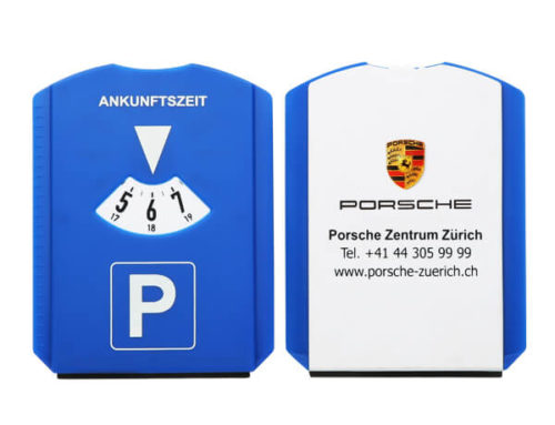 Ice scraper parking disc Germany
