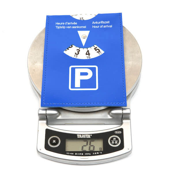 pvc parking timer weight