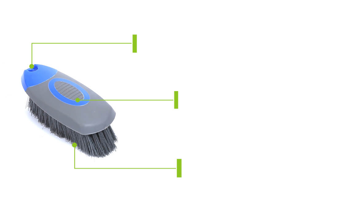 car upholstery cleaning brush