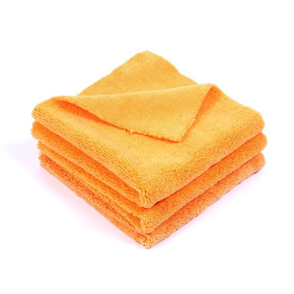 edgeless microfiber polishing towel