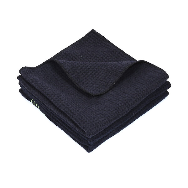 microfiber waffle weave car drying towel