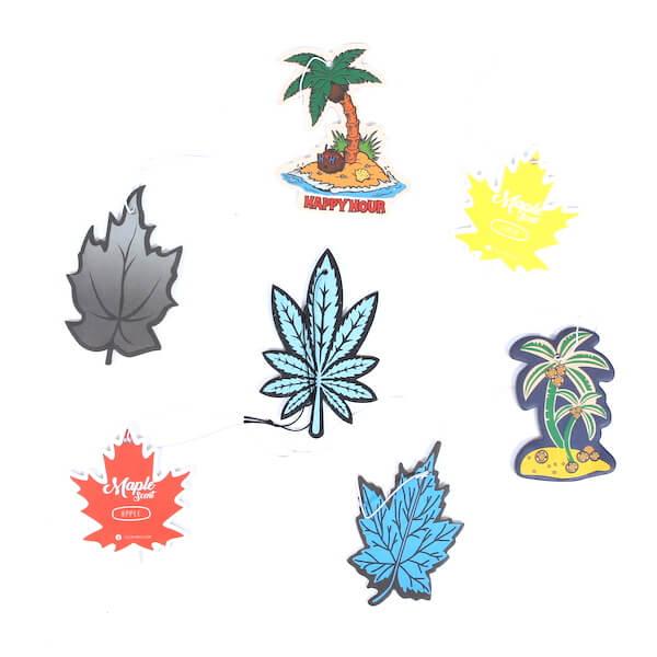 palm tree car air freshener