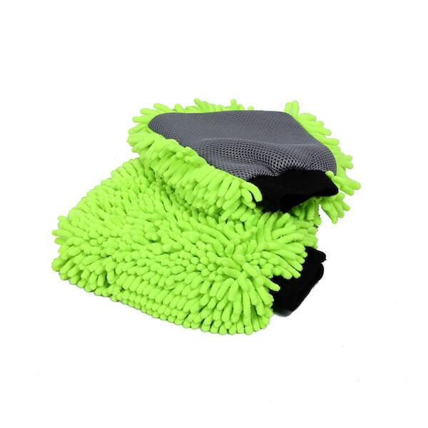 chenille microfiber car wash mitt