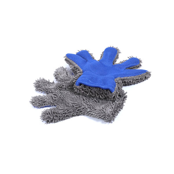 five finger chenille wash mitt