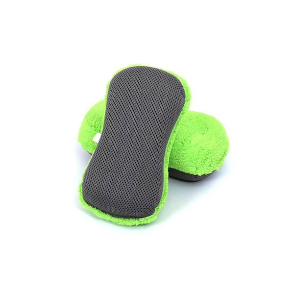 2 in 1 microfiber car wash sponge