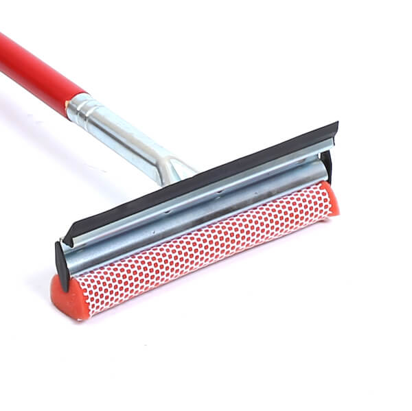 8 mallory zinc plated metal squeegee