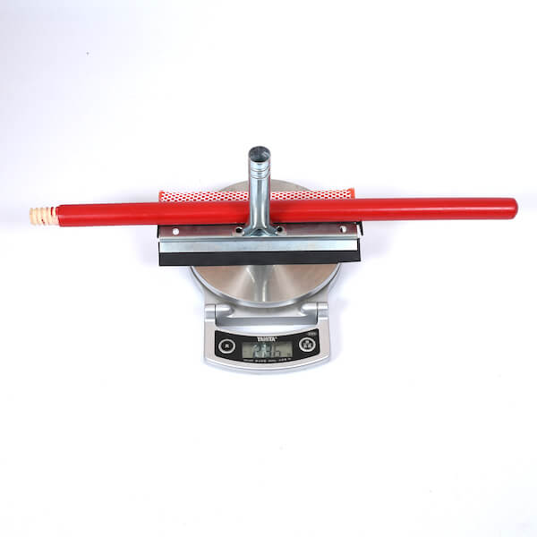 car metal squeegee weight