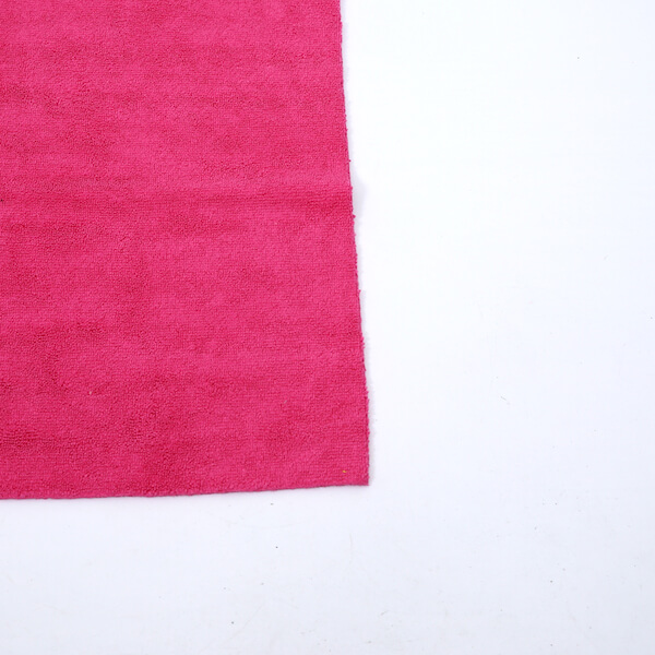 edgeless microfiber cloth