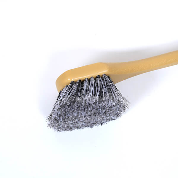 flogged bristle brush head