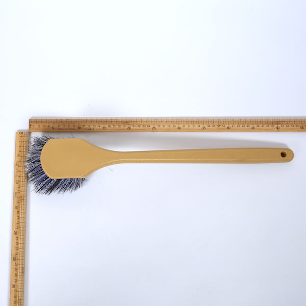 flogged bristle long handle fender brush