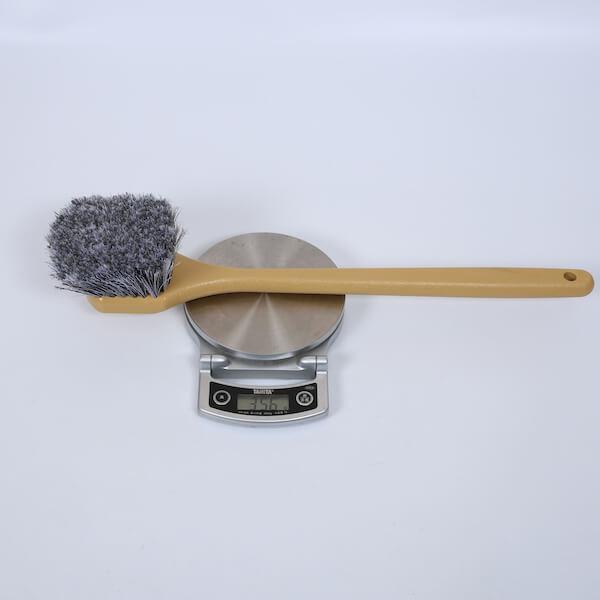 flogged bristle wheel brush