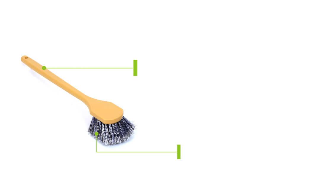 long handle car fender brush