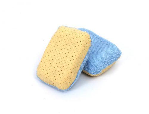 Microfiber car window sponge