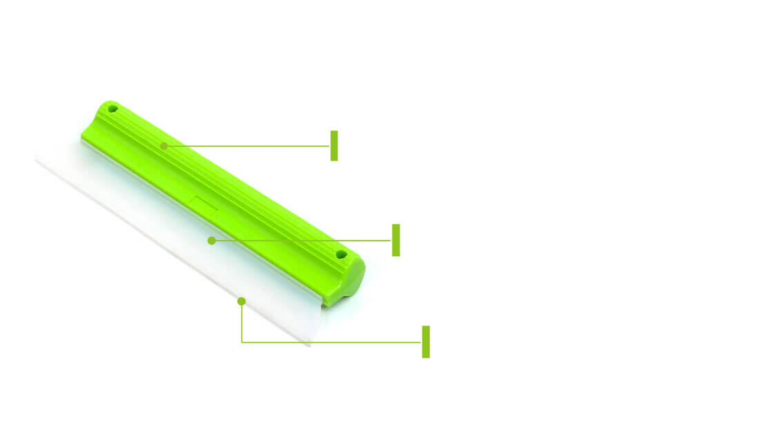silicone car window wiper squeegee