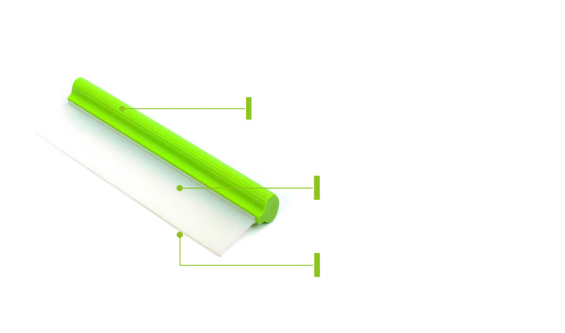 silicone water blade