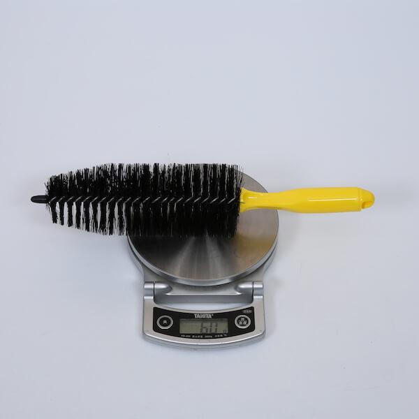 auto wheel tapered brush