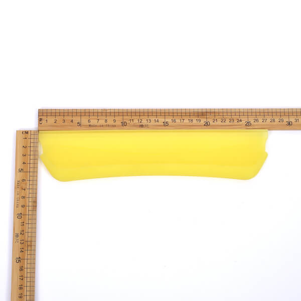 flexible silicone drying blade