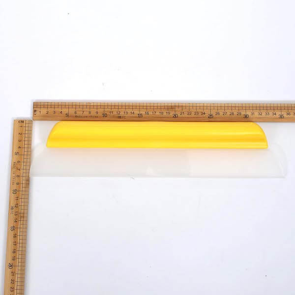one pass silicone water blade