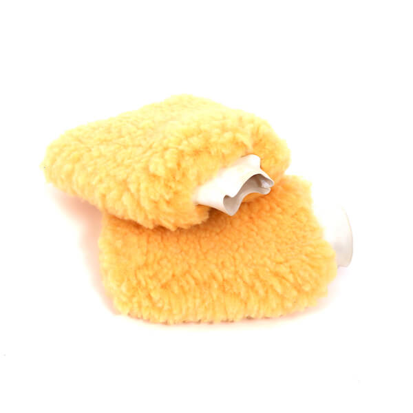 Extra thick synthetic wool wash mitt