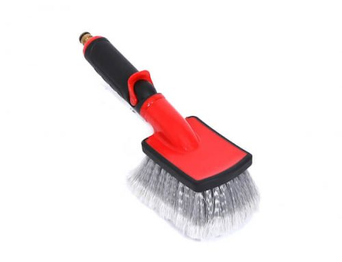 Wholesale flow-thru car wheel brush