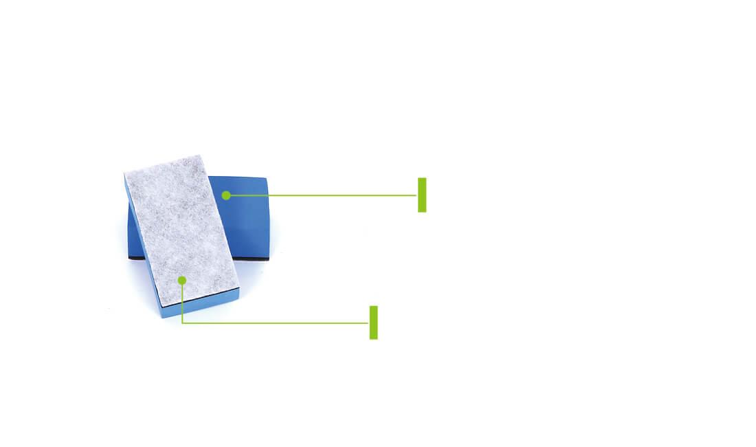 non-woven fabric nano coating applicator sponge