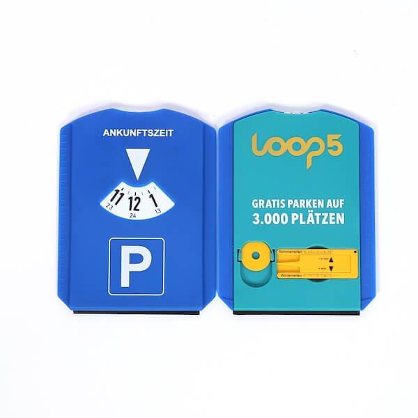 car parking disc for promotion