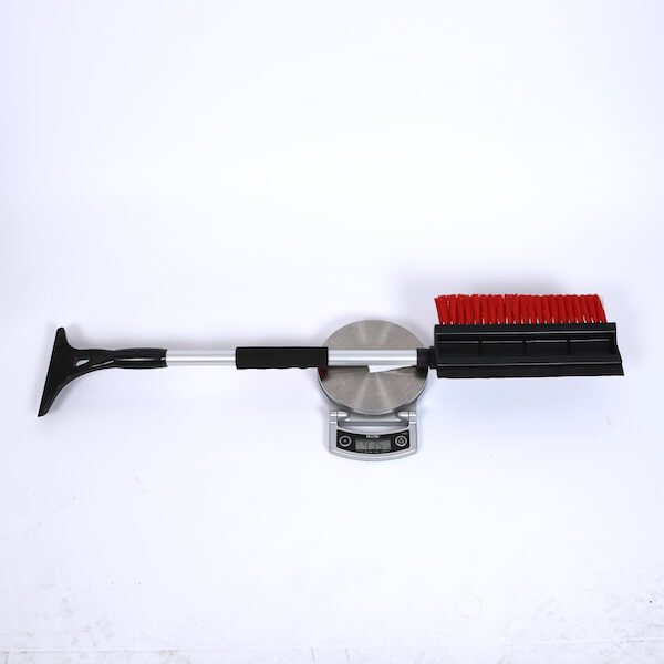 compact snow brush with ice scraper
