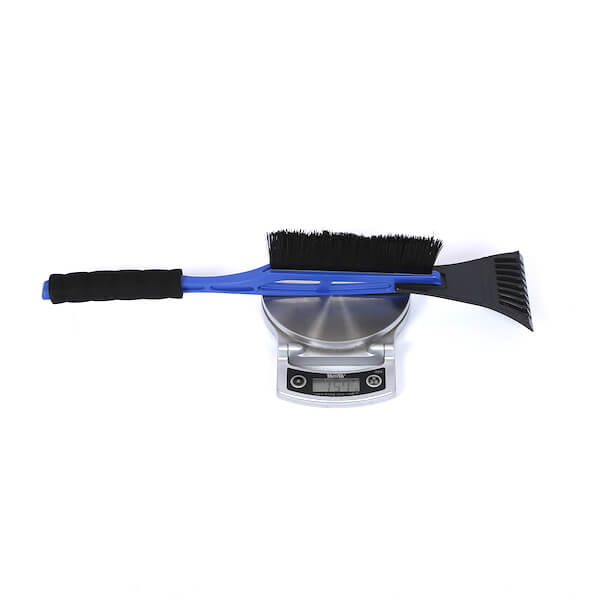 plastic brush ice scraper