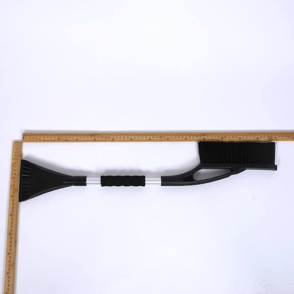 snow brush remover with foam grip