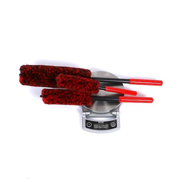 synthetic wool alloy wheel brush