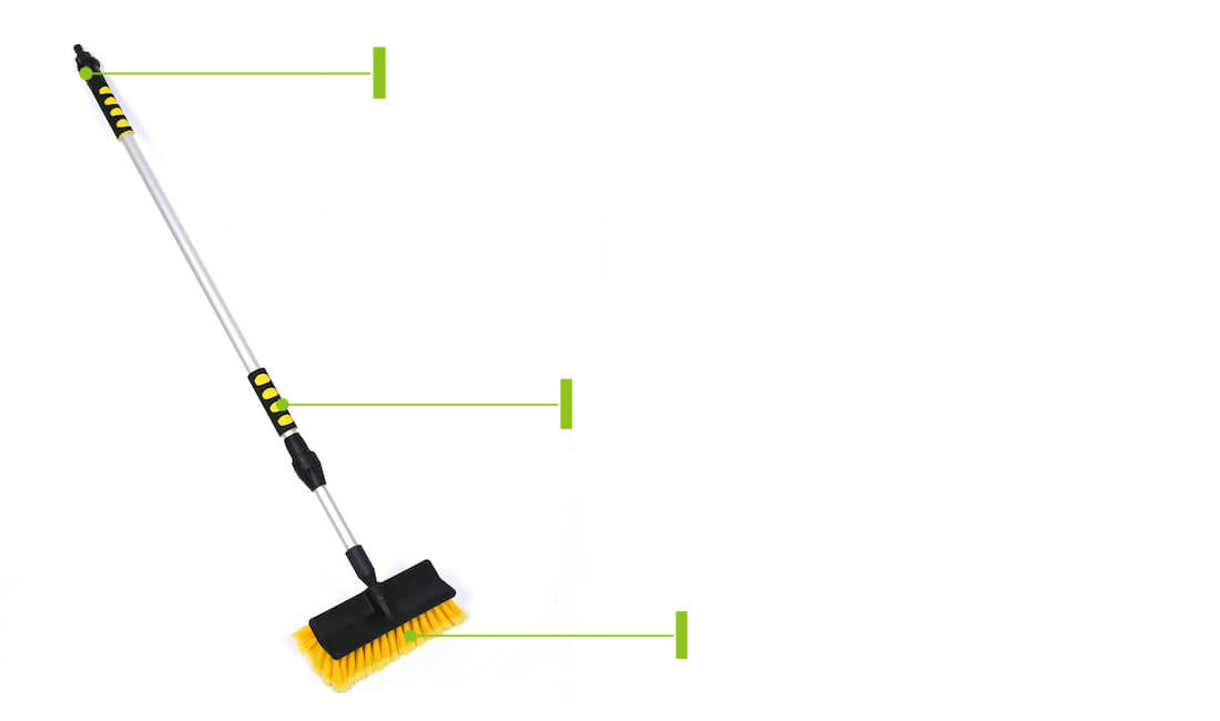 telescopic handle car wash brush