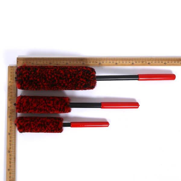 wool wheel rim brush kit