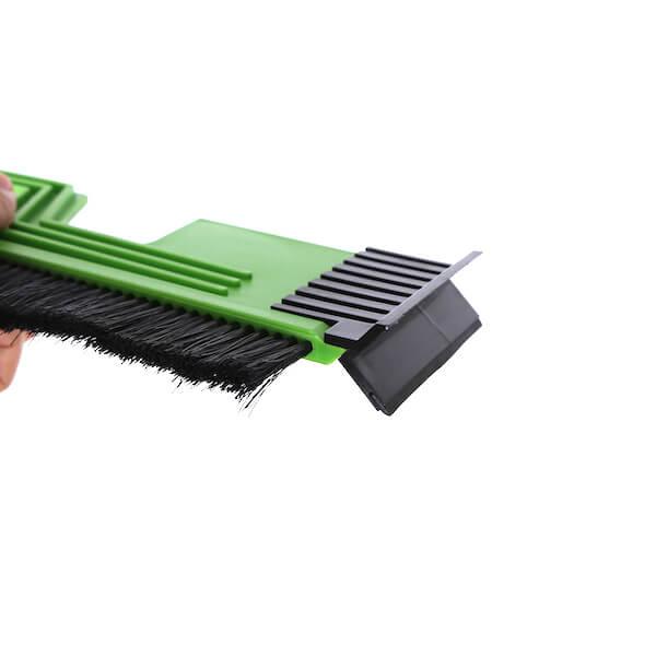 automotive ice scraper brush