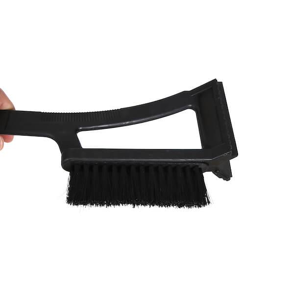 car ice scraper with snow broom shovel