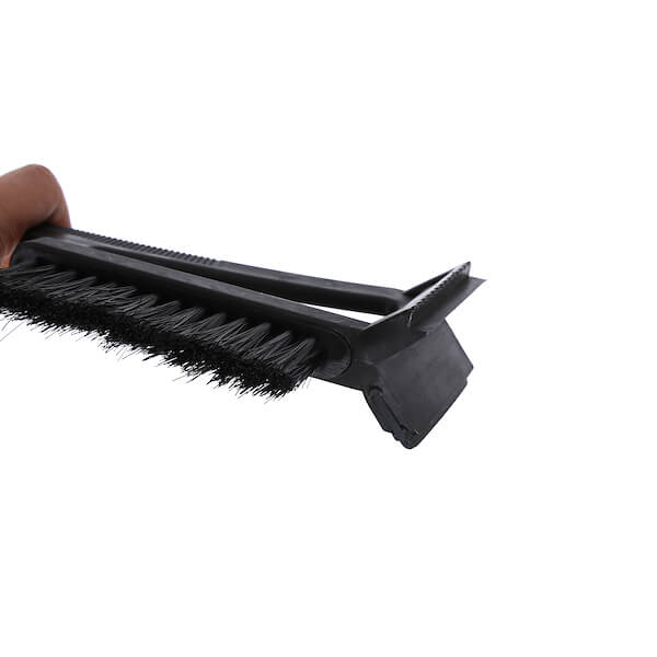 car snow brush with squeegee and ice scraper