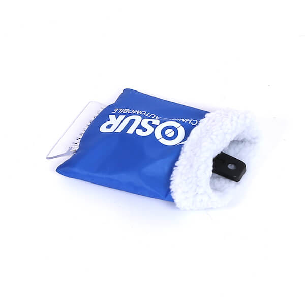 waterproof snow and ice scraper mitt