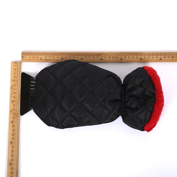 waterproof ice scraper glove mitt