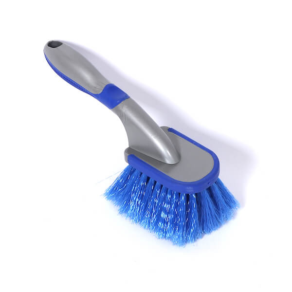 soft wheel and tire cleaning brush
